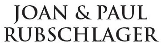 Joan and Paul Rubschlager Logo